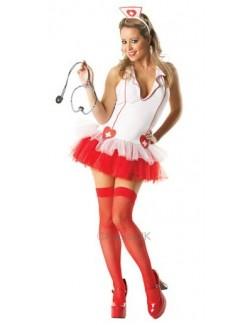 Costum de carnaval femei: Doctorita Sexi, Rubie's