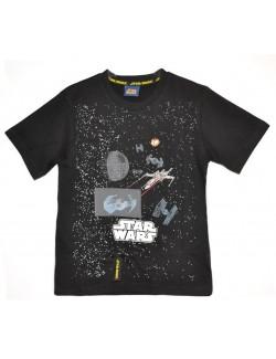Tricou copii, Star Wars, negru, 5-10 ani