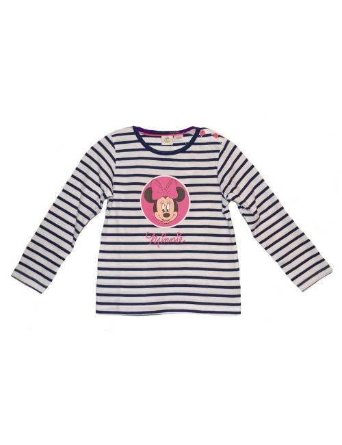 Bluza dungi Disney Minnie Mouse, 2-24 luni