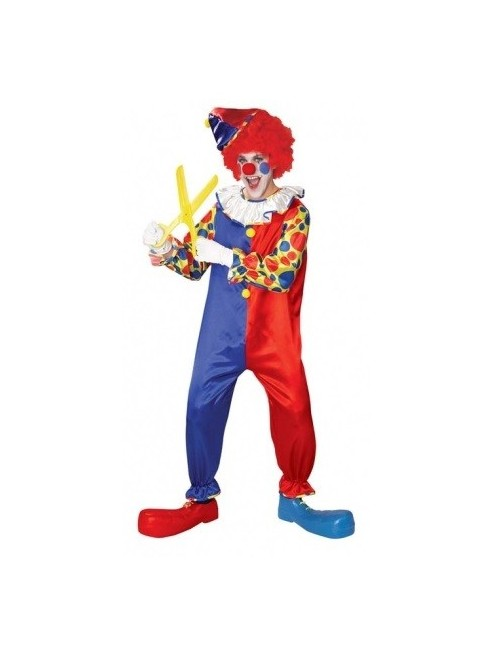 Costum carnaval adulti, Clovnul Bubbles, Rubie's