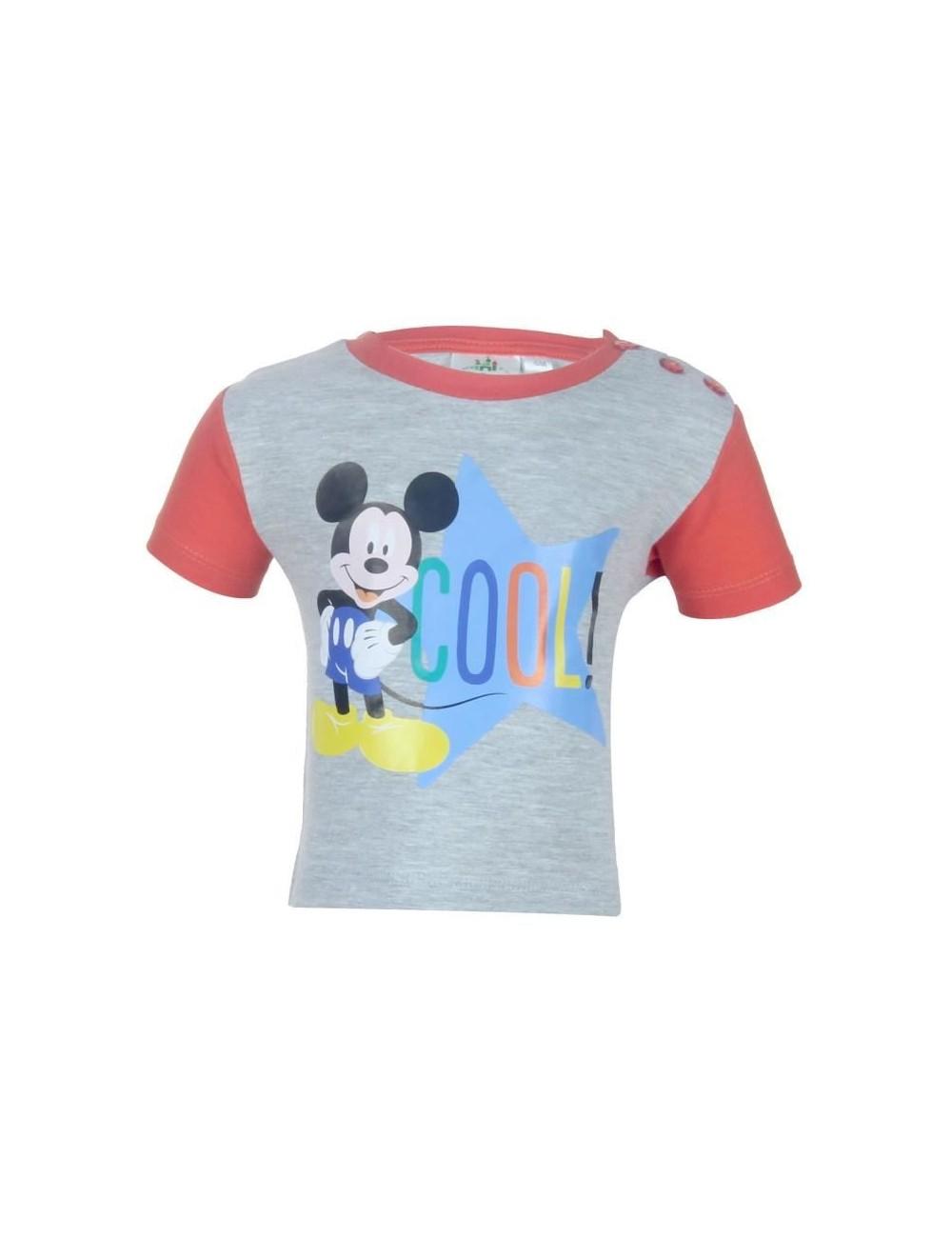 Tricou bebelusi Mickey Mouse Cool, 6 si 18 luni