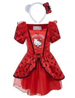Rochie Gargarita Hello Kitty, cu bentita, 3-5 ani