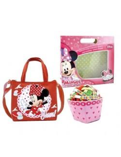 Set cadou Minnie Mouse: Gentuta si 24 elastice par
