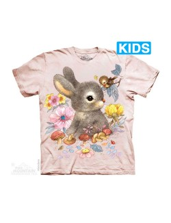 Tricou 3D copii: Baby Bunny, The Mountain