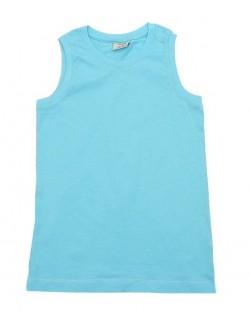 Tricouri Zara fara maneci, copii 3 -14 ani, bleu