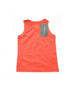 Tricouri Zara fara maneci, copii 3 -14 ani, portocaliu