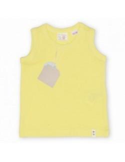 Tricouri Zara fara maneci, copii 3 -12 ani, galben