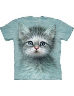 Tricou 3D copii: Blue Eyed Kitten, The Mountain