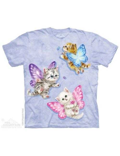 Tricou The Mountain copii: Butterfly Kitten Fairy, 4-18 ani