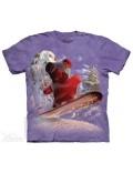 Tricou adulti The Mountain: Snowboard Bear