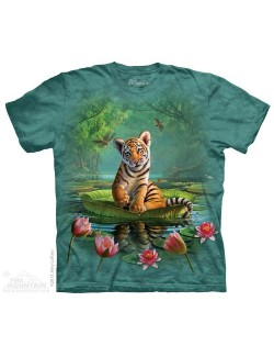 Tricou The Mountain: Tiger Lily, 3D, copii 7-9 ani