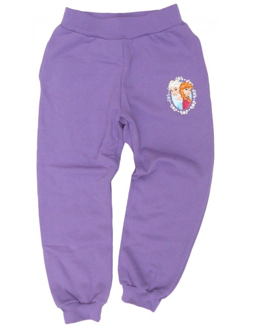 Pantaloni sport Disney Frozen, mov, 98-128