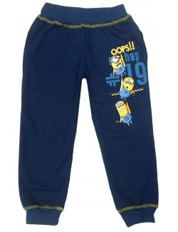 Pantaloni sport copii Minions 4 - 9 ani