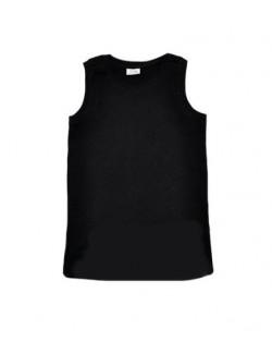 Tricouri Zara fara maneci, negru, pentru copii
