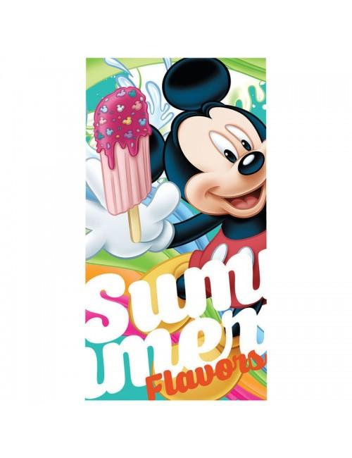 Prosop de plaja Mickey Mouse Flavors 70x140 cm