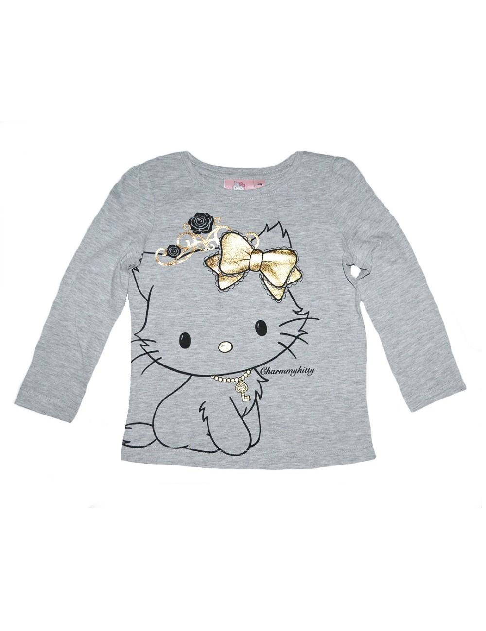 Bluza Charmmy Kitty, gri, 3-8 ani