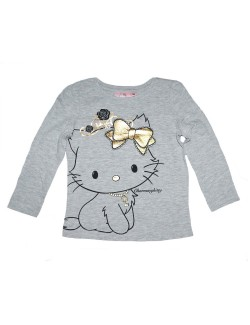 Bluza Charmmy Kitty, gri, 3-8 ani