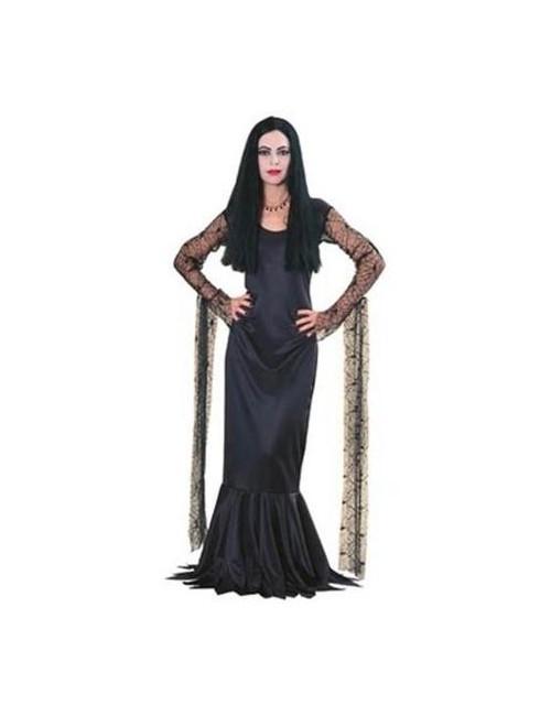 Costum Halloween: Rochie Morticia Addams Deluxe