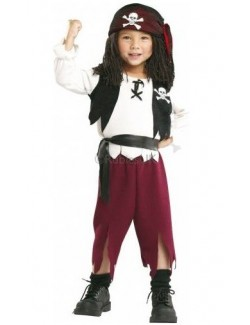 Costum carnaval baieti: Capitan de Pirati Rubies