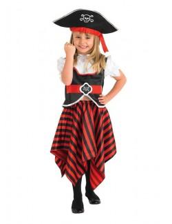 Costum carnaval Fetita Pirat Rubies