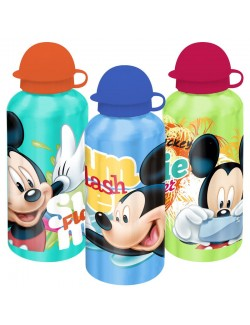Recipient aluminiu Disney Mickey Mouse, 500 ml