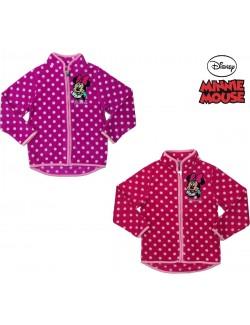 Bluza Minnie Mouse cu fermoar si buline, 3-8 ani