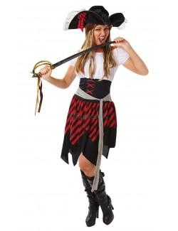 Costum carnaval femei: Pirat Rubie's