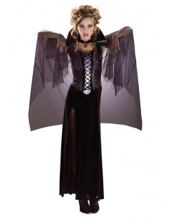 Costum Halloween femei: Midnight Vampira