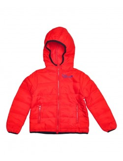 Jachetă fâș roșie, copii, Cool & Young, 86 - 116 cm