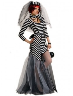Costum Halloween femei: Prisoner Bride