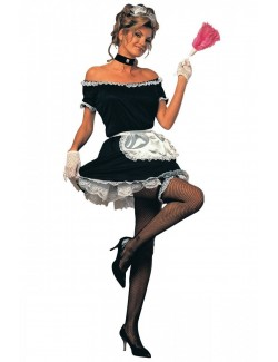 Costum Halloween: French Maid (Camerista frantuzoaica)