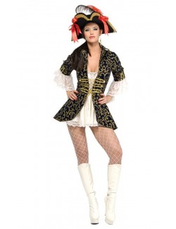 Costum Halloween: Regina piratilor Rubie's