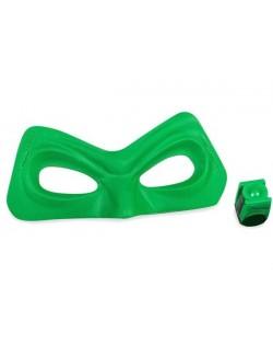 Set Green Lantern: Masca si inelul de putere cu lumina