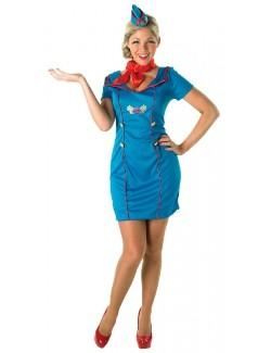 Costum Halloween femei: Insotitoare de bord