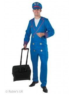 Costum Halloween barbati: Pilot Rubie's