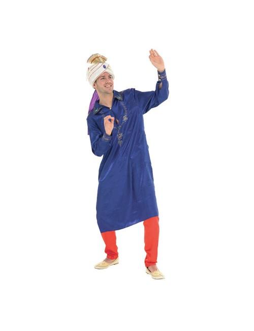 Costum Halloween: Bolywood Man, albastru-rosu