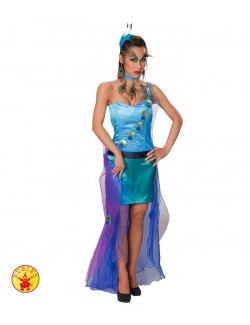 Costum carnaval femei: Rochie Păuniță Rubies