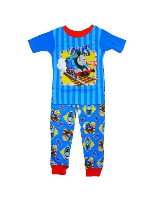 Pijama baieti Locomotiva Thomas, 12 luni - 5 ani