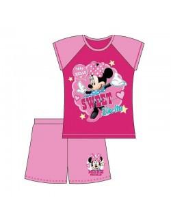 Pijama vara Minnie Mouse Sweet, copii 12 luni - 4 ani
