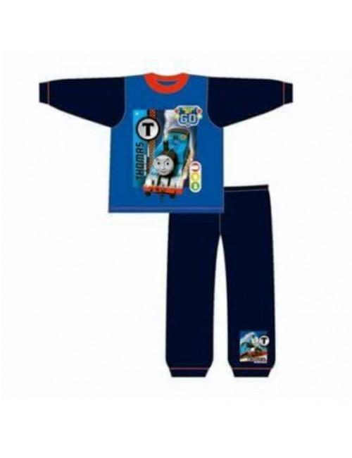 Pijama Locomotiva Thomas, maneca lunga, 18 luni/4 ani