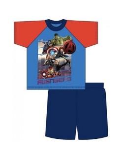 Pijama vara Marvel Avengers, copii 5 - 8 ani