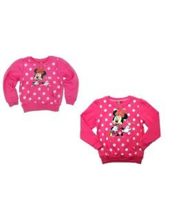 Bluza flausata, Minnie Mouse, fete 6-8 ani