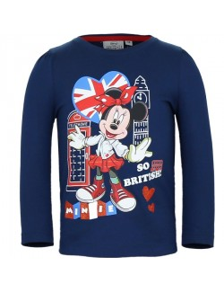Bluza Minnie Mouse So British, copii 3-8 ani
