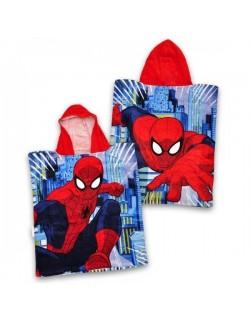 Prosop poncho Marvel Spiderman, 50 x 115 cm