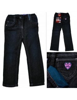 Pantaloni jeans captusiti, fete, 86-116 cm, Lupilu