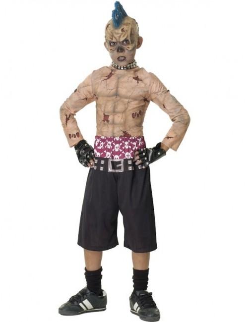 Costum horror copii: Zombie Skate Punk