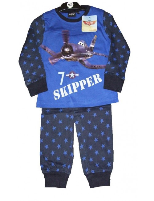 Pijamale Disney Planes, maneca lunga, 92 - 128 cm