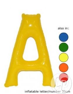 A - Litera gonflabila, 35 cm, diverse culori