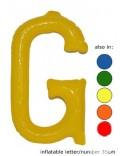G - Litera gonflabila, diverse culori, 35 cm