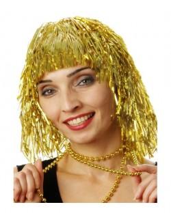 Peruca de petrecere: Auriu metalizat